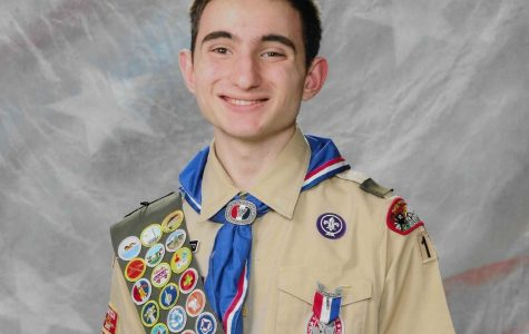 Senior and an editor-in-chief for X-ray, John Michelotti also received his Eagle Scout status this year.