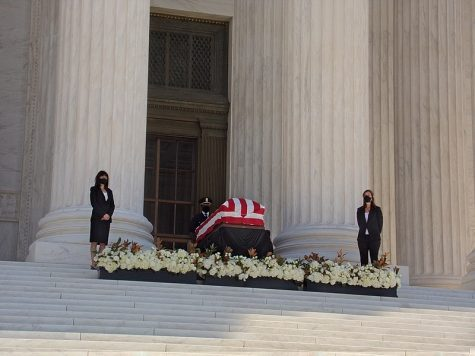 Supreme Court Justice Ruth Bader Ginsberg lies in state at the nation