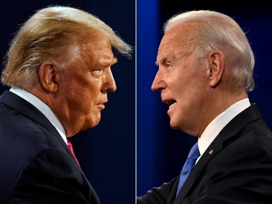 United+States+President+Donald+Trump+and+Democratic+Presidential+candidate+and+former+US+Vice+President+Joe+Biden+faced+off+in+the+final+presidential+debate+at+Belmont+University+in+Nashville%2C+Tennessee%2C+on+Oct.+22.++