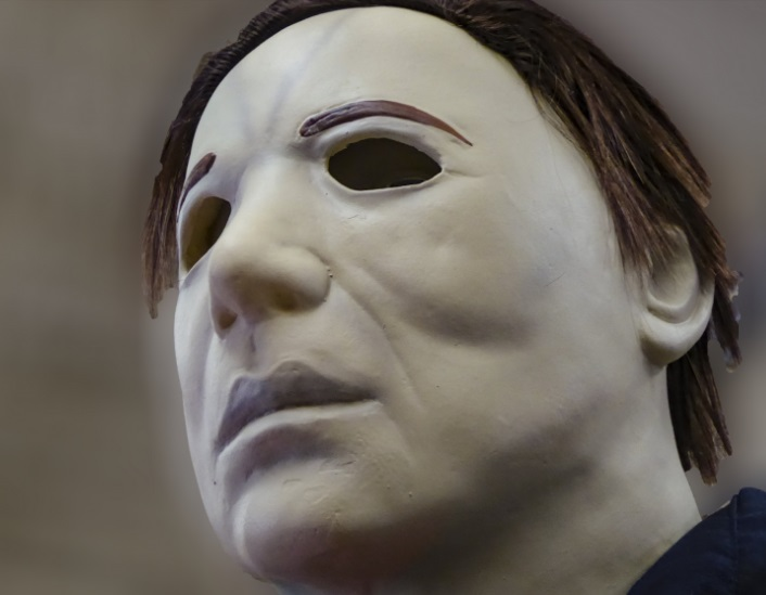 "Circe Denyer has released this ""Michael Myers Halloween Character"" look-alike image."