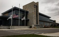 The St. Charles Police Department's new headquarters stands at 1515 W Main Street.  Photo by Jeff Pape.
