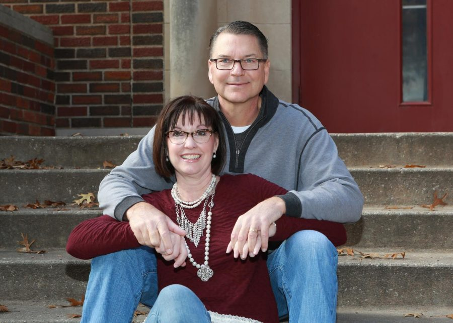Coach Potter and his wife Nanette. Photo courtesy of Mark Potter.