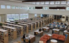 The renovated library consists of more windows to allow natural light in, along with plenty of desks and chairs for individuals to work. Photo courtesy of Serena Thakkar.